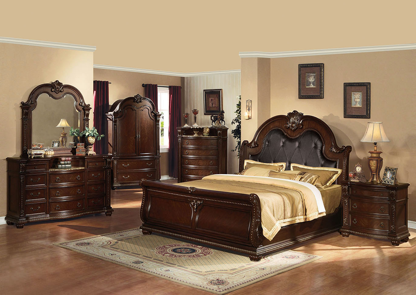 Widely Used Overstock Furniture – Langley Park, Catonsville, Alexandria & Lanham Regarding Cherry Tv Armoire (View 20 of 20)