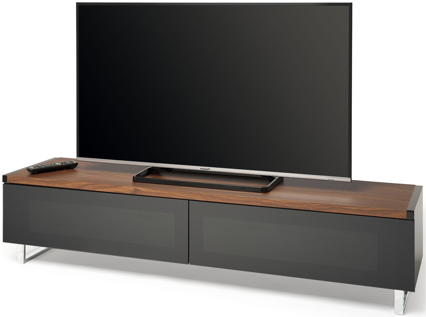Widely Used Techlink Panorama Walnut Tv Stands In Techlink Pm160Wb Walnut Tv Stands (Gallery 8 of 20)