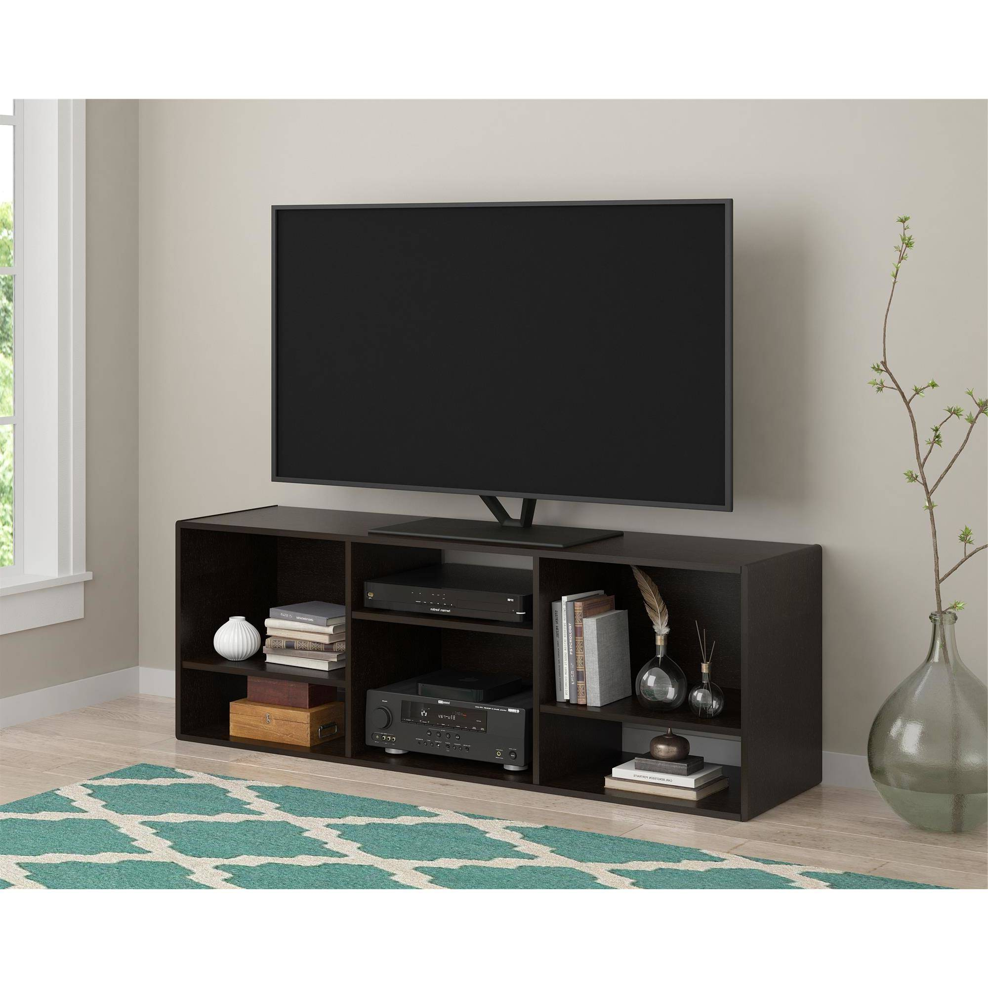"""Widely Used Tv Stands With Matching Bookcases Inside Ameriwood Home Nash Bookcase/tv Stand For Tvs Up To 60"""", Espresso (View 4 of 20)"""
