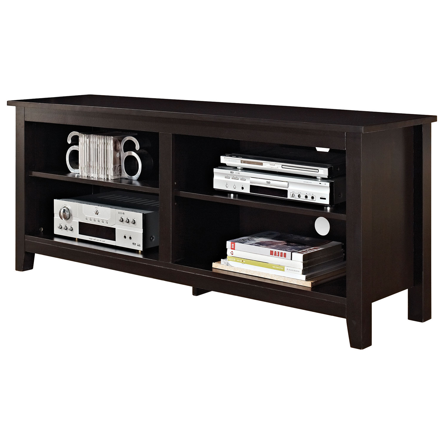 "Winmoor Home 65"" Tv Stand – Espresso : Tv Stands – Best Buy Canada Regarding Newest Expresso Tv Stands (View 20 of 20)"