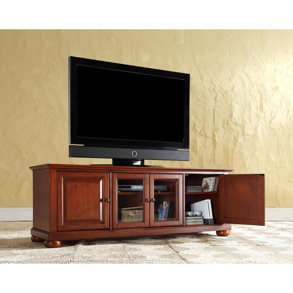Wood – Entertainment Center – Tv Stands – Living Room Furniture Regarding Trendy Light Cherry Tv Stands (View 20 of 20)