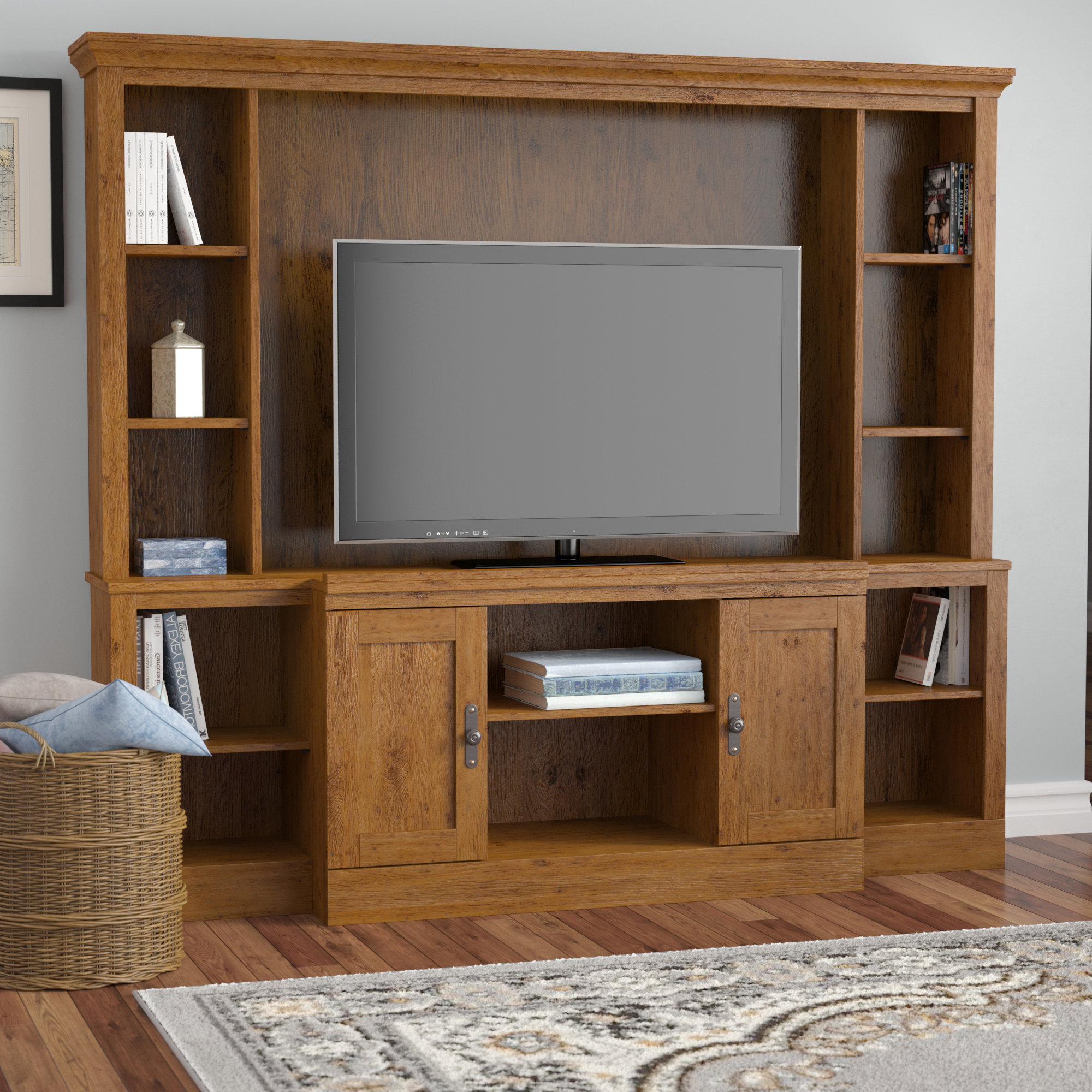 Wood Tv Entertainment Stands For Recent Entertainment Centers You'll Love (View 13 of 20)