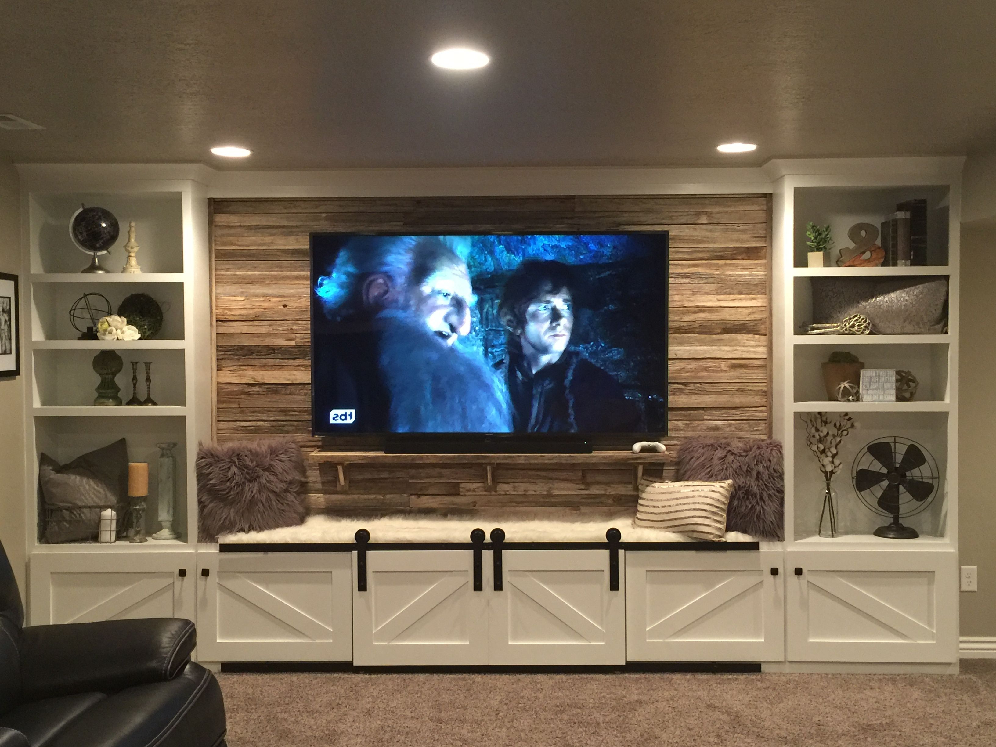 Wood Tv Entertainment Stands In Most Popular 17 Diy Entertainment Center Ideas And Designs For Your New Home (View 14 of 20)