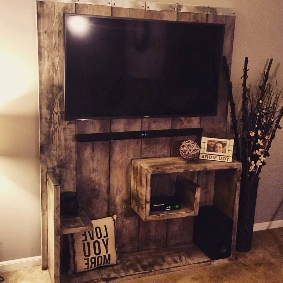 Wood Tv Entertainment Stands With Regard To Most Recently Released 17 Diy Entertainment Center Ideas And Designs For Your New Home (View 20 of 20)