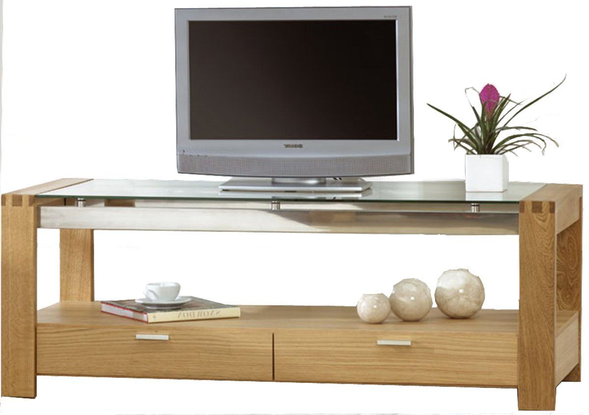 Wooden Tv Intended For Favorite Wood Tv Stand With Glass (View 10 of 20)