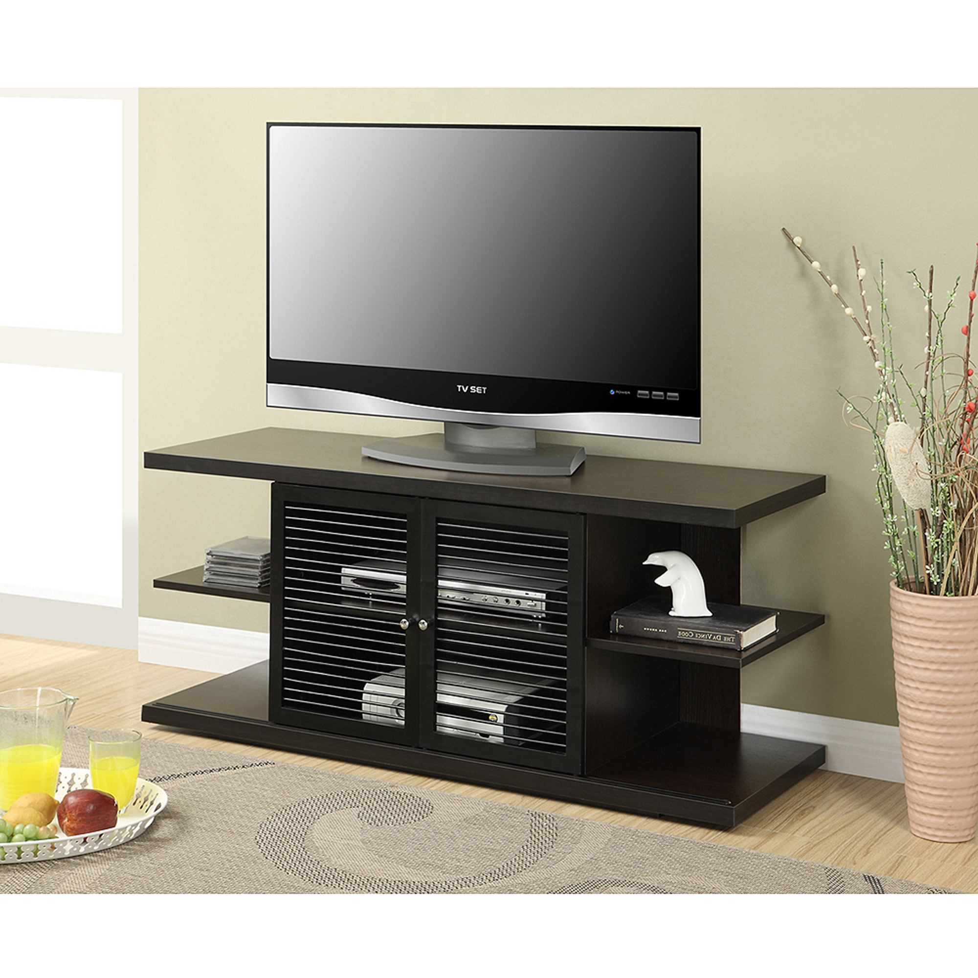 Wooden Tv Stands For 50 Inch Tv Pertaining To Most Current Convenience Concepts Designs2go E (View 20 of 20)