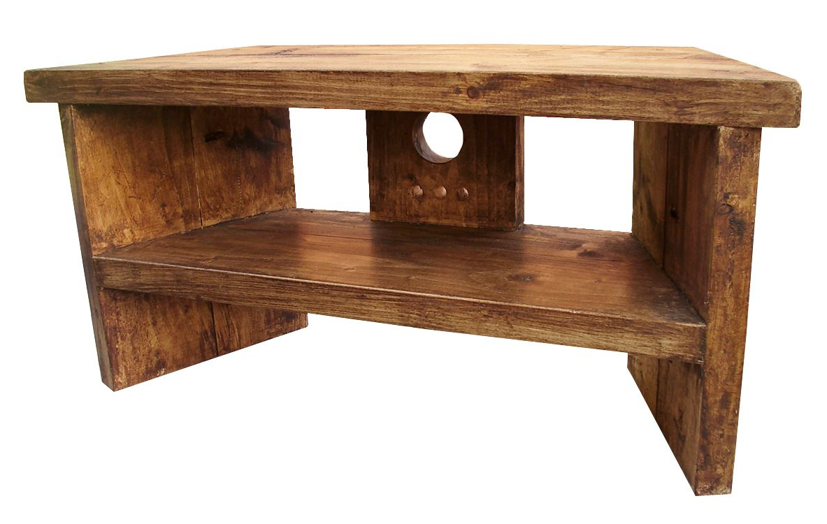 Woodwork Throughout Famous Rustic Corner Tv Stands (View 20 of 20)