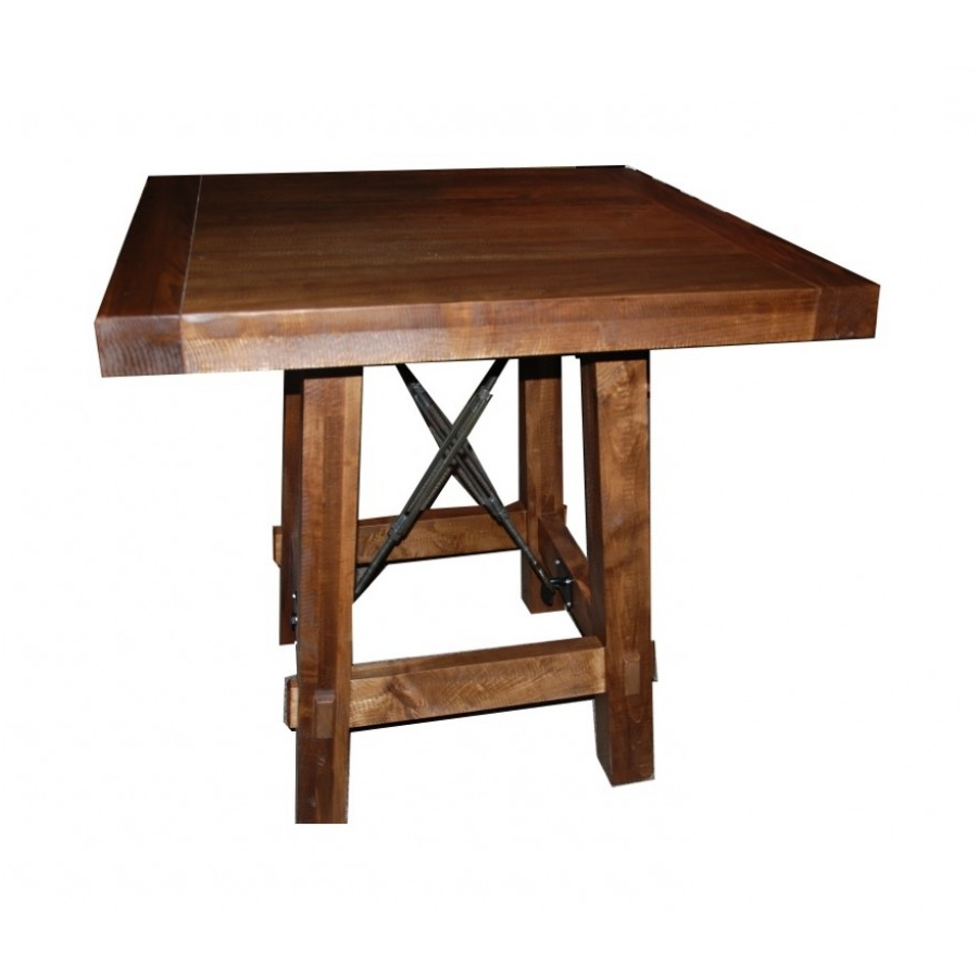 Yukon Turnbuckle Pub Table With Widely Used Yukon Natural Console Tables (View 20 of 20)