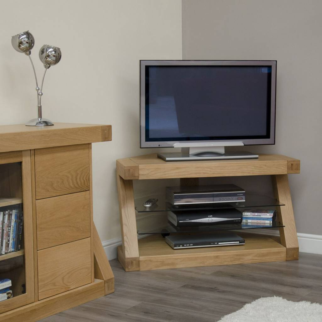 Z Designer Solid Oak Corner Tv Unit – Freitaslaf Net Ltd Pertaining To 2017 Solid Oak Corner Tv Cabinets (View 20 of 20)