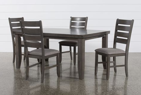 2017 Servantes 5 Piece Dining Set Pertaining To Casiano 5 Piece Dining Sets (View 1 of 20)