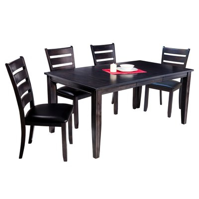 2018 Ttp Furnish Aden 5 Piece Dining Set (View 7 of 20)