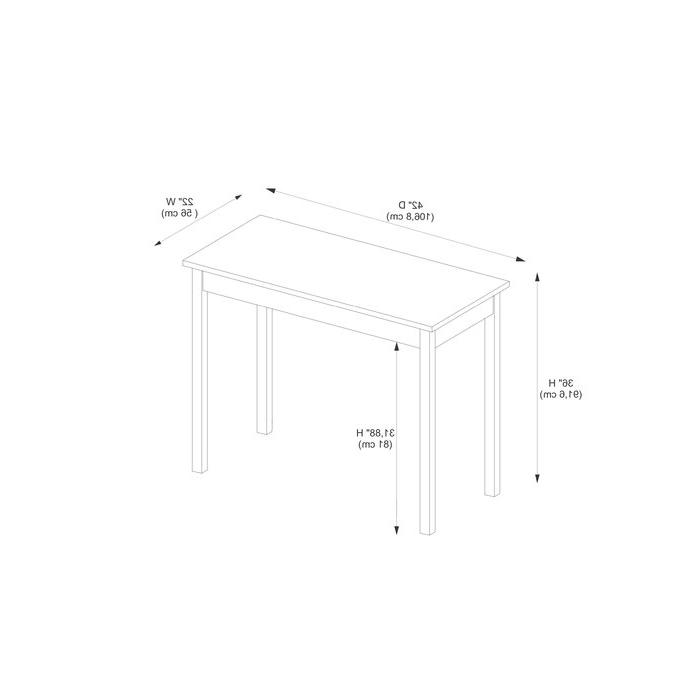 2020 Winston Porter Sheetz 3 Piece Counter Height Dining Set & Reviews Pertaining To Sheetz 3 Piece Counter Height Dining Sets (View 3 of 20)