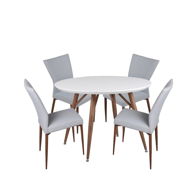 5 Piece Breakfast Nook Dining Sets For Most Recent Corrigan Studio Brandyn 5 Piece Breakfast Nook Dining Set (View 11 of 20)
