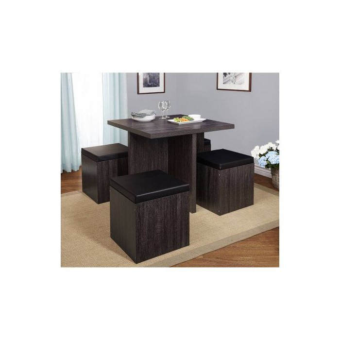 5 Piece In Well Known Ryker 3 Piece Dining Sets (Gallery 13 of 20)