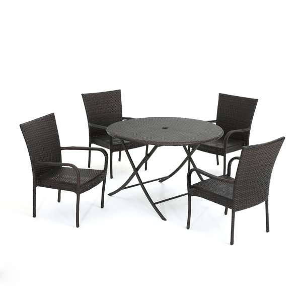 Allmodern With Berrios 3 Piece Counter Height Dining Sets (View 1 of 20)