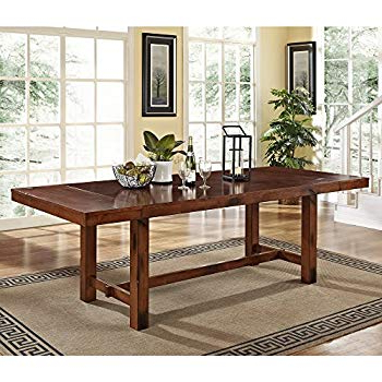 Amazon – Furniture Of America Maynard Wooden Dining Table – Tables For 2018 Maynard 5 Piece Dining Sets (View 4 of 20)