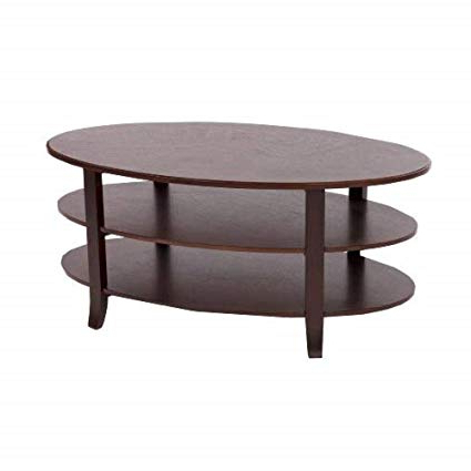 Amazon: Target Marketing Systems London Collection 3 Tier Oval In Current Lonon 3 Piece Dining Sets (View 13 of 20)