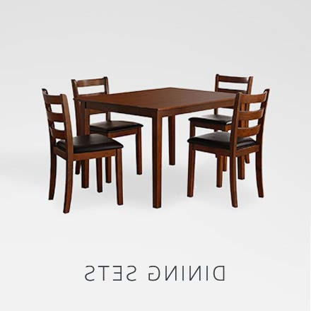Amazon With Falmer 3 Piece Solid Wood Dining Sets (View 2 of 20)