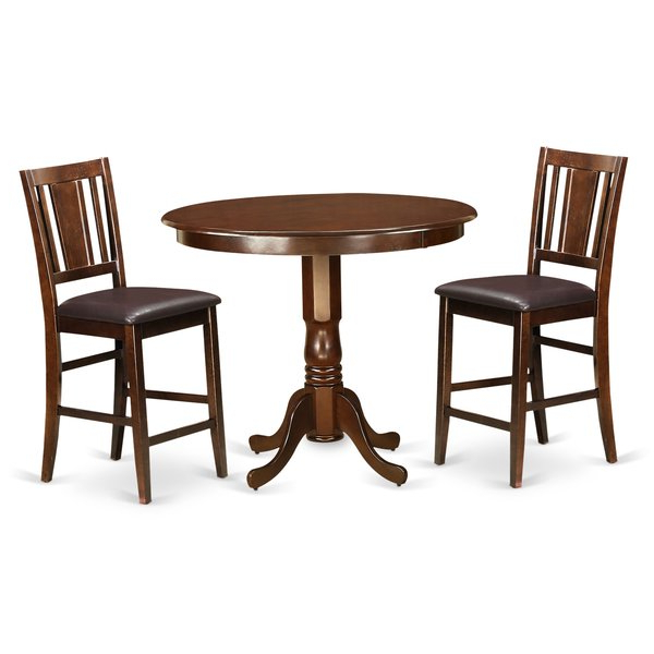 Anette 3 Piece Counter Height Dining Sets Within Most Recent Anette 3 Piece Counter Height Dining Setcharlton Home 2019 Sale (View 7 of 20)