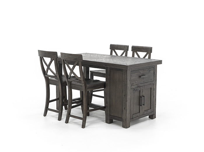 Aria 5 Piece Dining Sets In Most Recently Released Aria 5 Pc. Kitchen Counter Height Set (Gallery 6 of 20)