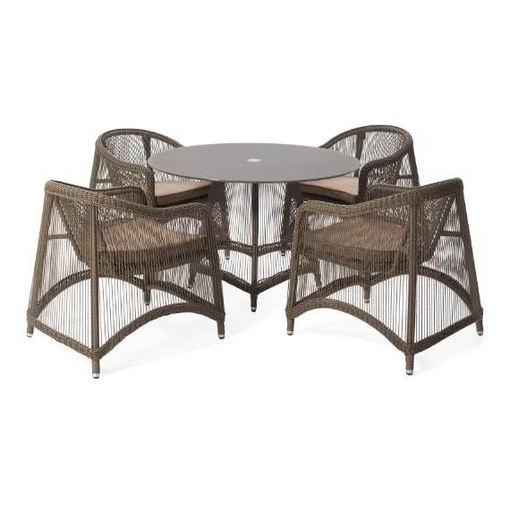 Aria 5 Piece Dining Sets With Regard To Fashionable Aria 5 Pieces Oval Dining Set – Outdoor – Me2Concept (Gallery 5 of 20)