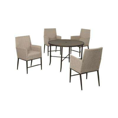 Aria – Patio Furniture – Outdoors – The Home Depot Within Newest Aria 5 Piece Dining Sets (Gallery 8 of 20)