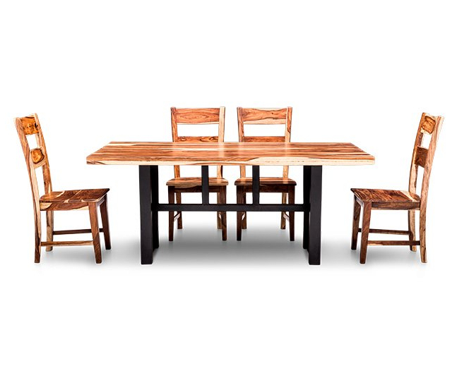 Askern 3 Piece Counter Height Dining Sets (Set Of 3) Within Fashionable Nepali 5 Pc (View 4 of 20)