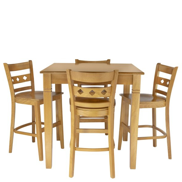Autberry 5 Piece Dining Sets Pertaining To Well Liked Autberry 5 Piece Pub Table Setgracie Oaks Today Sale Only On (View 17 of 20)