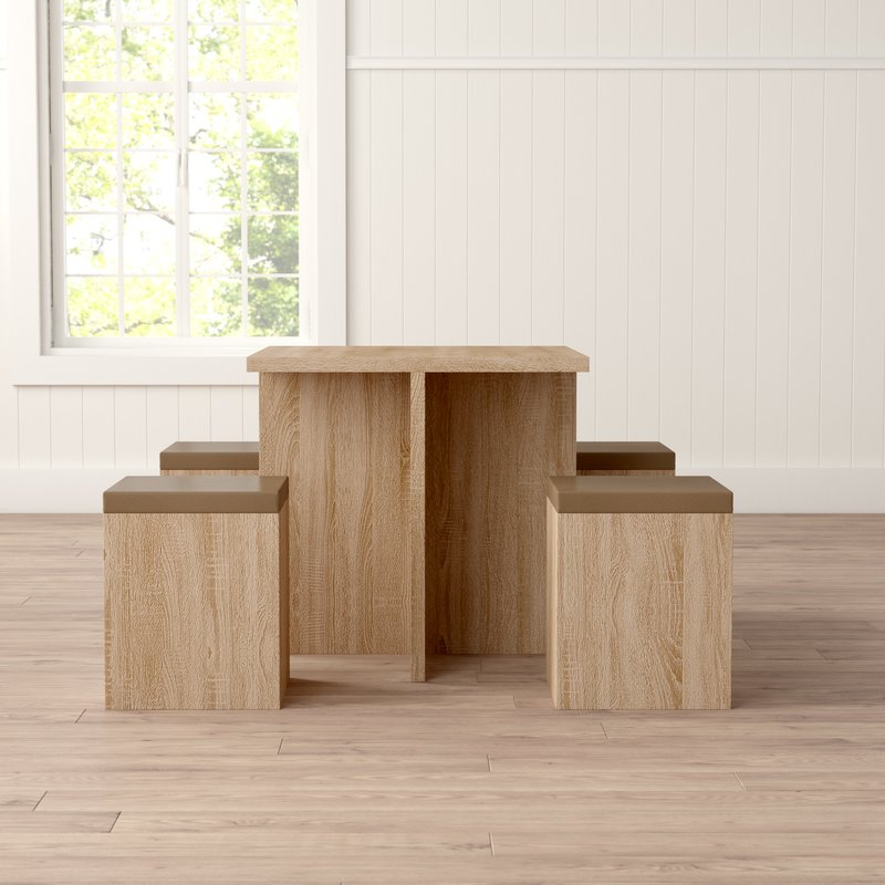 Badillo 5 Piece Dining Set & Reviews (View 6 of 20)