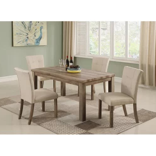 Baillie 3 Piece Dining Sets With Regard To Current Modern Dining Set (Gallery 15 of 20)