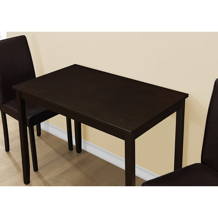 Baillie 3 Piece Dining Sets With Regard To Famous Latitude Run Baillie 3 Piece Dining Set & Reviews (View 4 of 20)