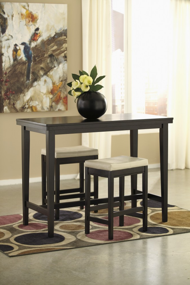 Bar Table Intended For Popular Tappahannock 3 Piece Counter Height Dining Sets (View 16 of 20)