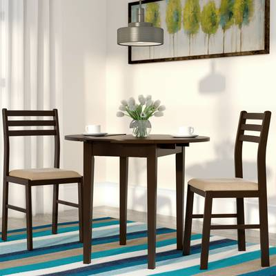 Baxton Studio Keitaro 5 Piece Dining Set & Reviews (View 3 of 20)