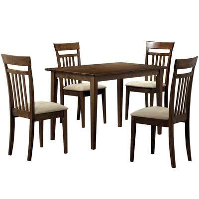 Baxton Studio Keitaro 5 Piece Dining Sets Pertaining To Most Current Wholesale Interiors Baxton Studio Keitaro 5 Piece Dining Set (View 4 of 20)