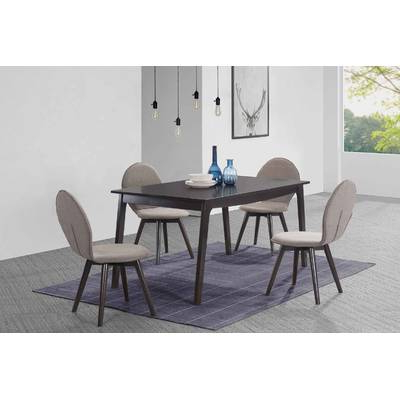 Baxton Studio Keitaro 5 Piece Dining Sets Throughout Newest Wholesale Interiors Baxton Studio Keitaro 5 Piece Dining Set (View 5 of 20)