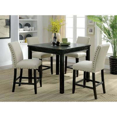 Baxton Studio Keitaro 5 Piece Dining Sets With Most Recent Wholesale Interiors Baxton Studio Keitaro 5 Piece Dining Set (View 8 of 20)