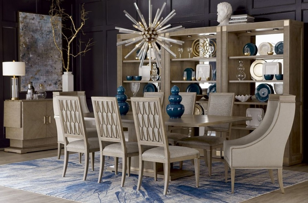 Bedfo 3 Piece Dining Sets For Most Recently Released Buy Art Cityscapes Bedford Rectangular Dining Set In Stone  (View 2 of 20)