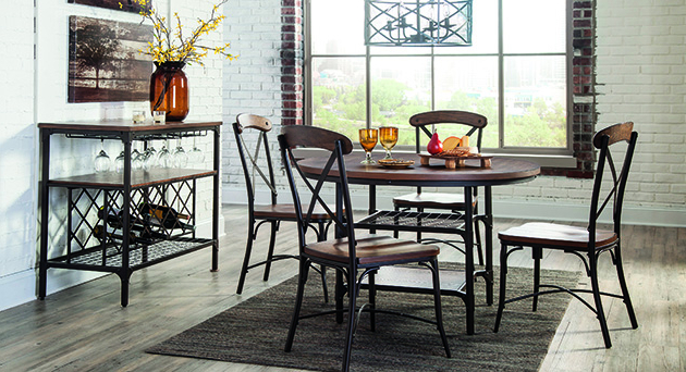 Bedfo 3 Piece Dining Sets Pertaining To Popular Dining Room Demello's Furniture (View 6 of 20)