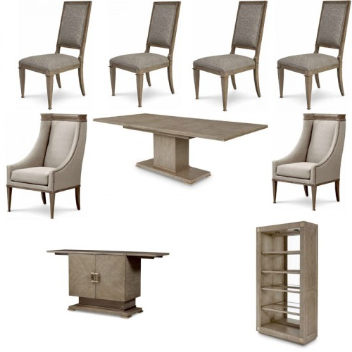 Bedfo 3 Piece Dining Sets Within Widely Used Art Furniture – Cityscapes Stone Bedford 9 Piece Rectangular Dining (View 7 of 20)