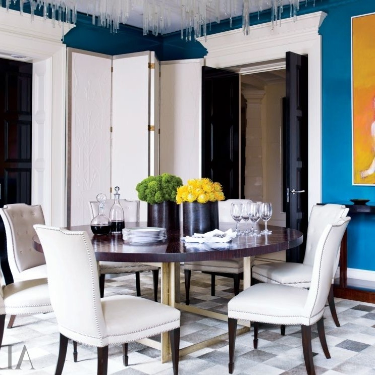 Best And Newest 19 Round Dining Tables That Make A Statement (Gallery 19 of 20)
