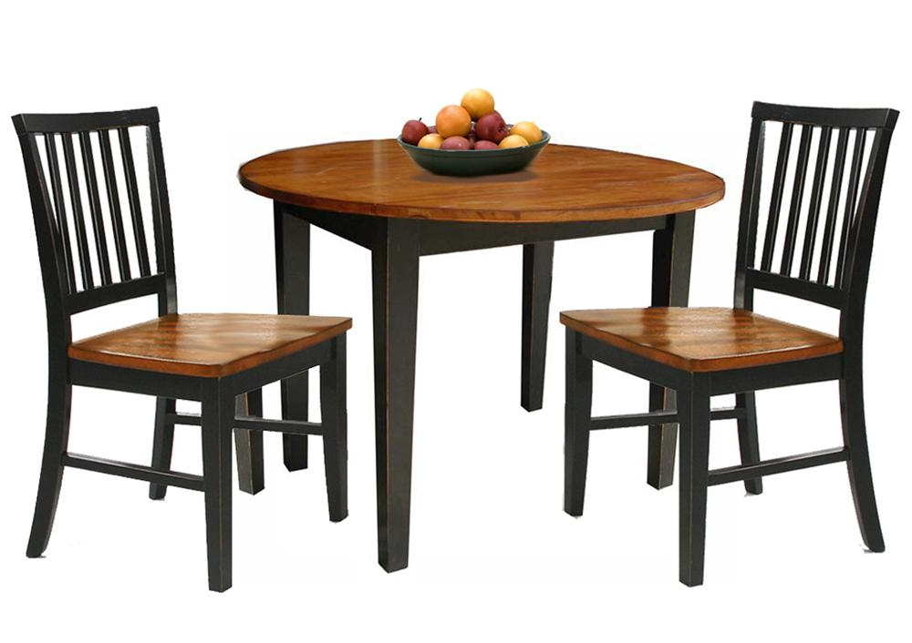 Best And Newest 3 Piece Dining Sets With 3 Piece Dining Set With Two Drop Leavesintercon (View 15 of 20)