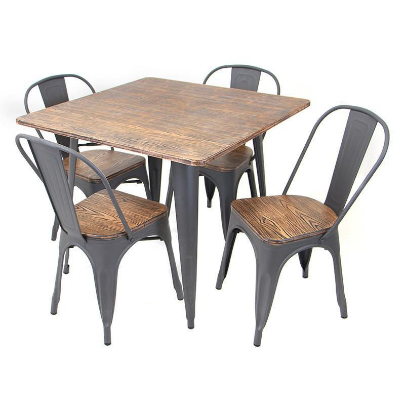 Best And Newest Lumisource Ds Tw Or Sq Oregon Dining Set – 5 Piece In 2019 Within Telauges 5 Piece Dining Sets (View 14 of 20)