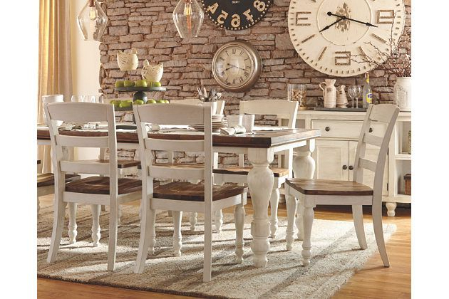 Best And Newest Marsilona 5 Piece Dining Setashley Homestore, Two Tone Within Berrios 3 Piece Counter Height Dining Sets (Gallery 14 of 20)