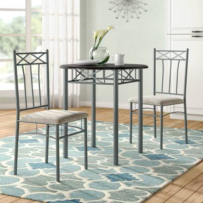 Best And Newest Red Barrel Studio Queener 5 Piece Dining Set & Reviews (View 3 of 20)