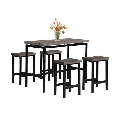 Best And Newest Wrought Studio Chelmsford 3 Piece Dining Set & Reviews (View 6 of 20)