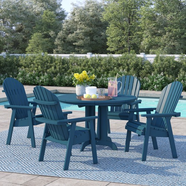 Best Choices Anette 5 Piece Dining Setsol 72 Outdoor No Copoun With Most Recent Anette 3 Piece Counter Height Dining Sets (Gallery 11 of 20)