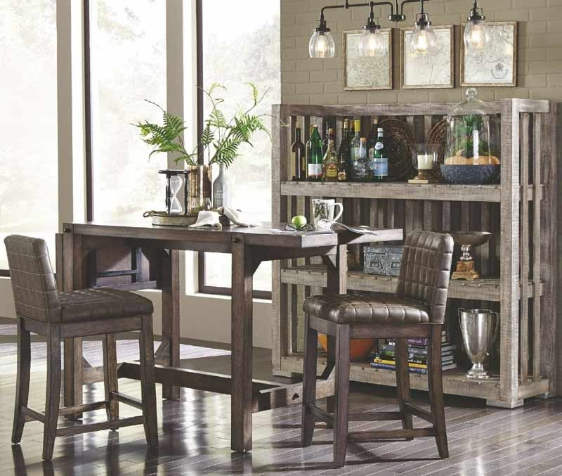 Broyhill Furniture – Bedford Avenue 7 Piece Drop Leaf Extendable Regarding 2020 Bedfo 3 Piece Dining Sets (Gallery 4 of 20)