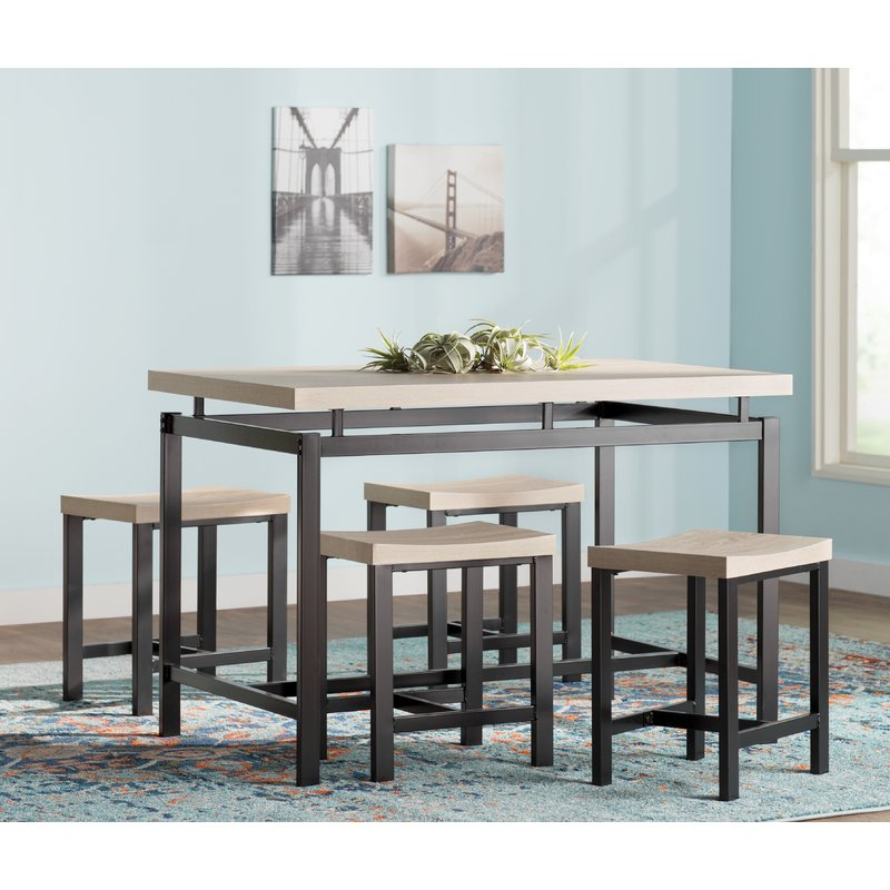 Bryson 5 Piece Dining Set & Reviews (View 2 of 20)