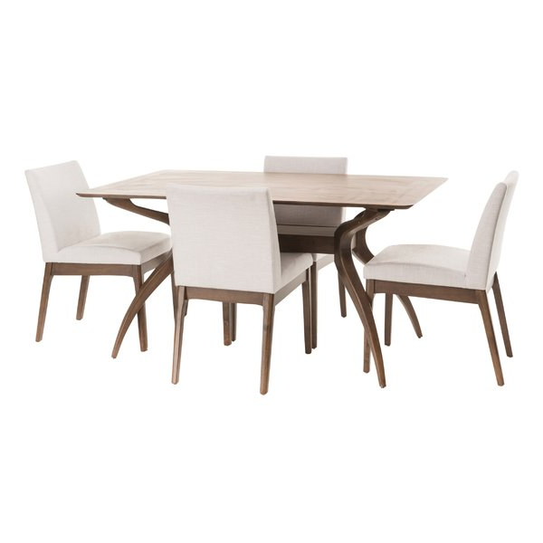 Bryson 5 Piece Dining Sets With Most Recently Released Modern & Contemporary Tunis 5 Piece Dining Set (Gallery 17 of 20)