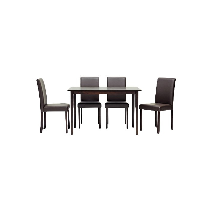 Calla 5 Piece Dining Sets Regarding Widely Used Latitude Run Calla 5 Piece Dining Set & Reviews (View 5 of 20)